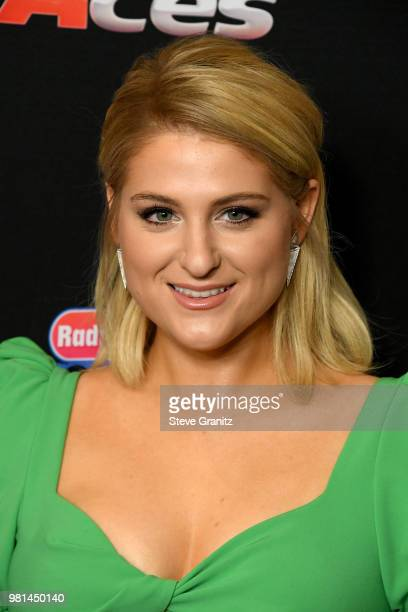 Meghan Trainor attends the 2018 Radio Disney Music Awards at Loews Hollywood Hotel on June 22 2018 in Hollywood California