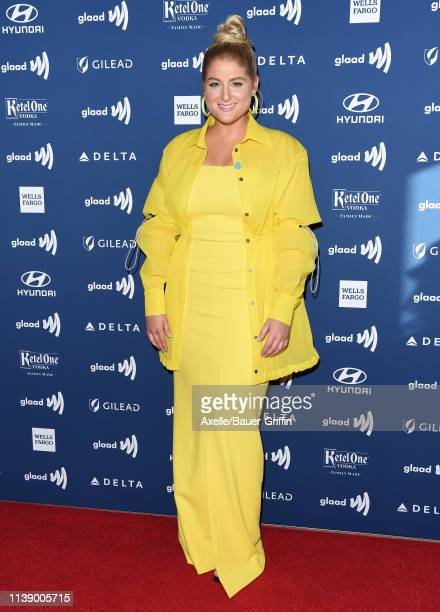 Meghan Trainor attends the 30th Annual GLAAD Media Awards at The Beverly Hilton Hotel on March 28 2019 in Beverly Hills California