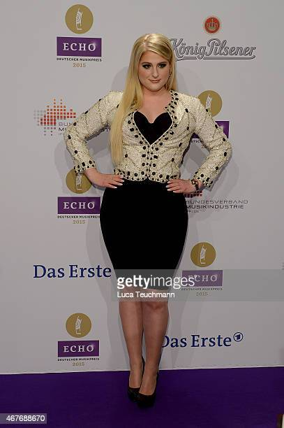 Meghan Trainor attends the Echo Award 2015 Red Carpet Arrivals on March 26 2015 in Berlin Germany