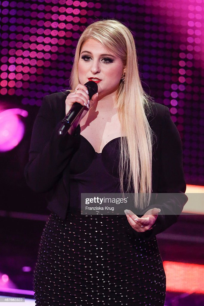 Meghan Trainor attends the Echo Award 2015 show on March 26, 2015 in Berlin, Germany.