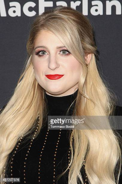 Meghan Trainor attends The Grove Christmas With Seth MacFarlane at The Grove on November 14 2015 in Los Angeles California