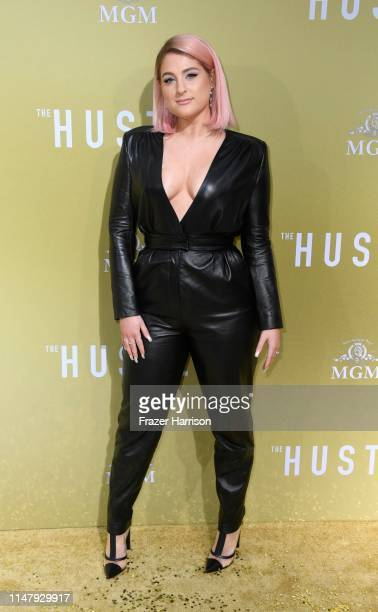Meghan Trainor attends the Premiere of MGM's The Hustle at ArcLight Cinerama Dome on May 08 2019 in Hollywood California