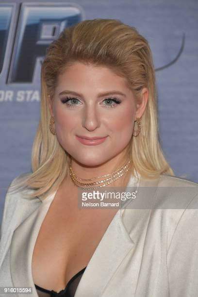 Meghan Trainor attends the season finale viewing party for FOX's 'The Four' at Delilah on February 8 2018 in West Hollywood California