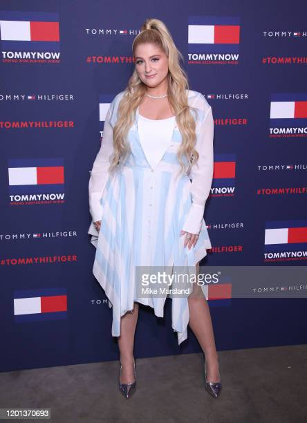 Meghan Trainor attends the TommyNow Step Repeat during London Fashion Week February 2020 at the Tate Modern on February 16 2020 in London England