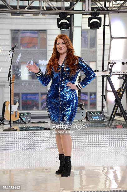 AMERICA Meghan Trainor performs live on GOOD MORNING AMERICA 5/13/16 airing on the ABC Television Network MEGHAN