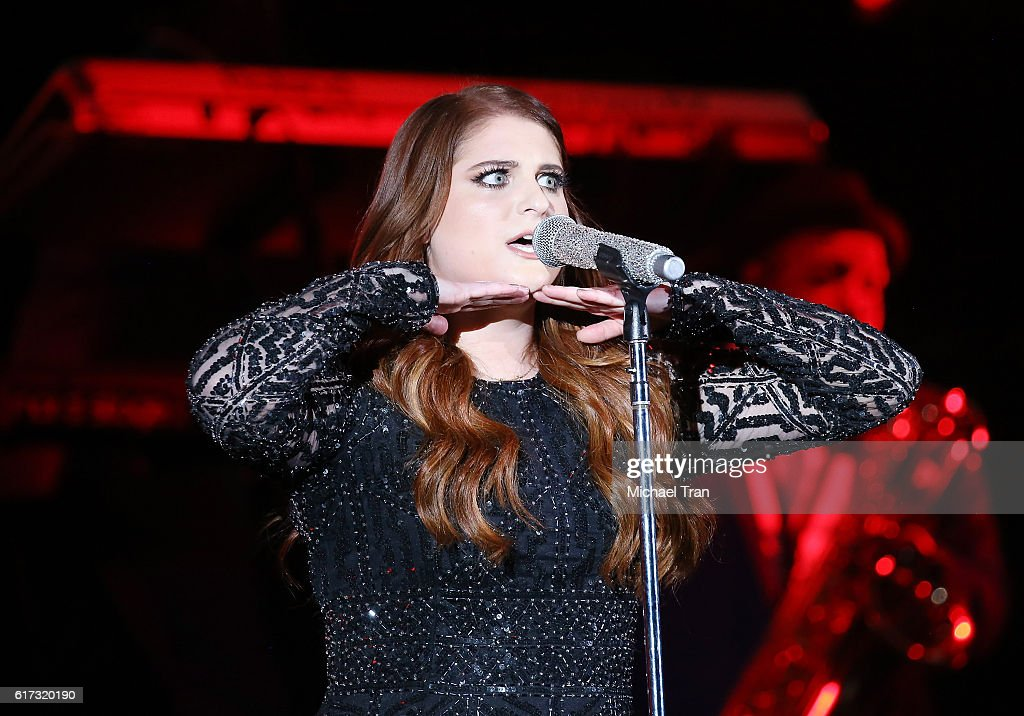 Meghan Trainor performs onstage during the 2016 CBS RADIO's We Can Survive benefit concert held at the Hollywood Bowl on October 22, 2016 in Hollywood, California.