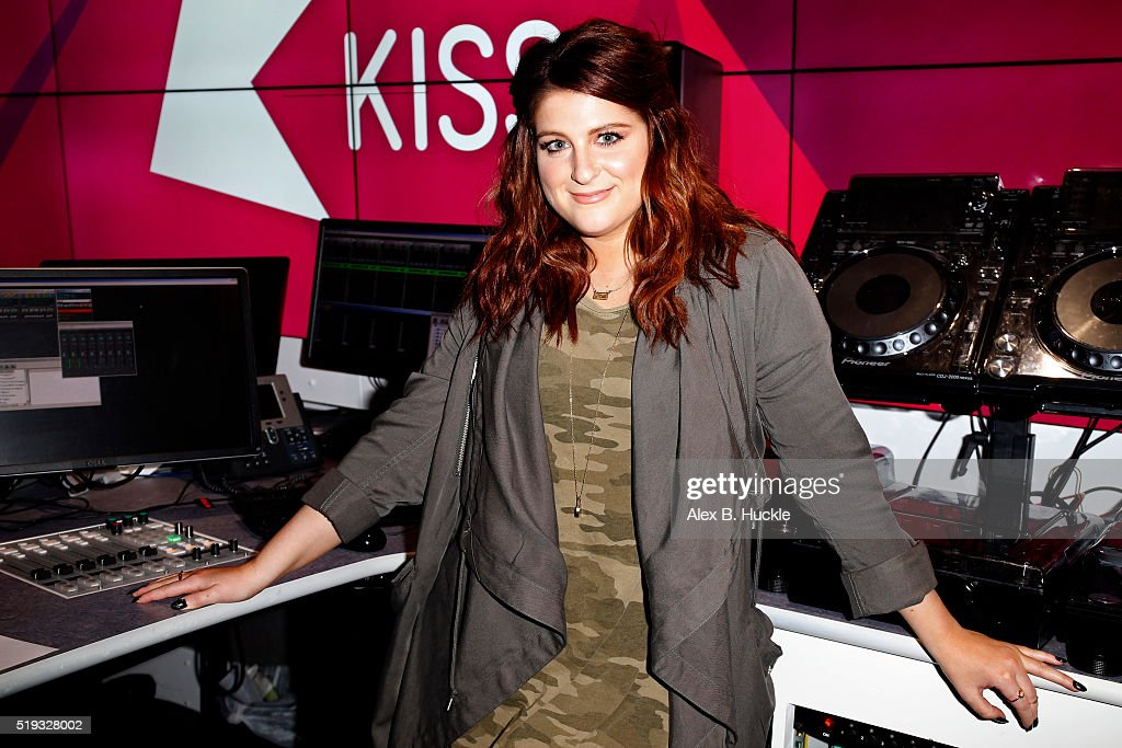 Meghan Trainor Visits Kiss FM