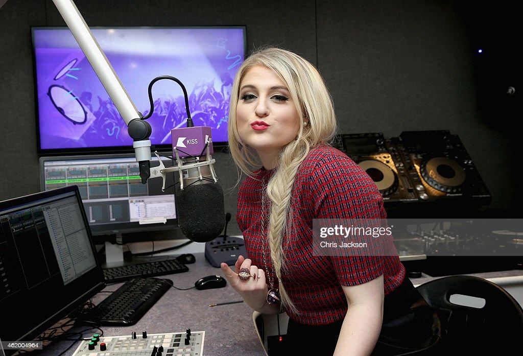 Meghan Trainor Visits Kiss FM