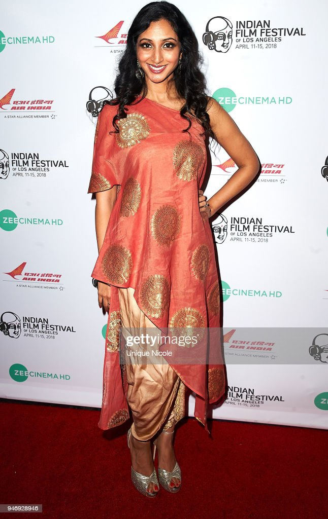 Meghana Mudiyam attends the Closing Night Red Carpet 16th Annual Indian Film Festival Of Los Angeles at Regal Cinemas L.A. Live on April 15, 2018 in Los Angeles, California.
