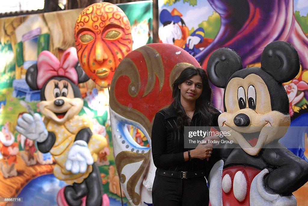 Meghna Chitalia at her workshop in Mumbai, Maharashtra