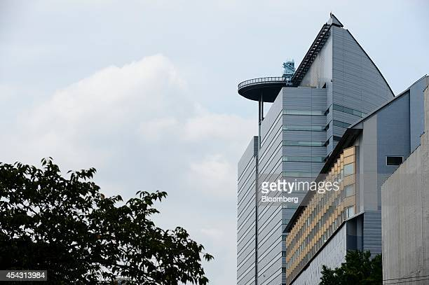 Meguro Gajoen an office and banquet hall complex stands in Tokyo Japan on Tuesday Aug 26 2014 Mori Trust Co Japan's secondbiggest closely held...