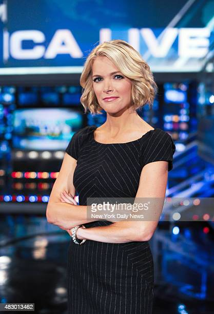 Megyn Kelly anchor of Fox News Channel's America Live with Megyn Kelly in her studio