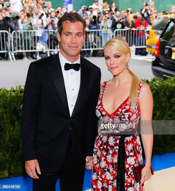 Megyn Kelly and Douglas Brunt at 'Rei Kawakubo/Comme des GarçonsArt of the InBetween' Costume Institute Gala at Metropolitan Museum of Art on May 1...