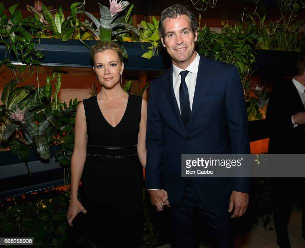 Megyn Kelly and Douglas Brunt attend The Hollywood Reporter 35 Most Powerful People In Media 2017 at The Pool on April 13 2017 in New York City