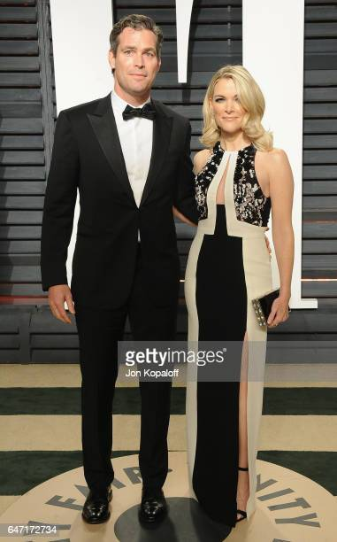 Megyn Kelly and husband Douglas Brunt arrive at the 2017 Vanity Fair Oscar Party Hosted By Graydon Carter at Wallis Annenberg Center for the...