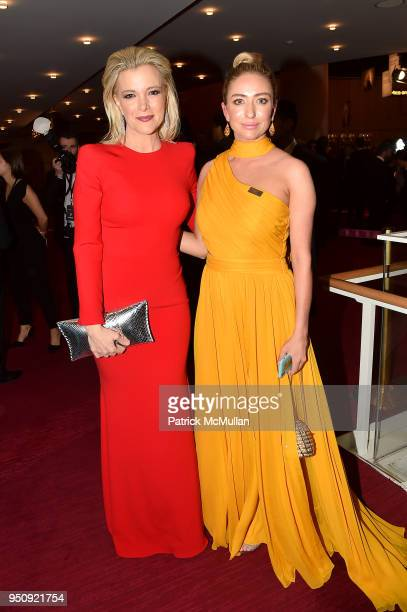 Megyn Kelly and Whitney Wolfe Herd attend the 2018 TIME 100 Gala at Jazz at Lincoln Center on April 24, 2018 in New York City.