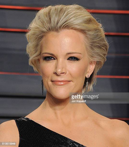 Megyn Kelly arrives at the 2016 Vanity Fair Oscar Party Hosted By Graydon Carter at Wallis Annenberg Center for the Performing Arts on February 28...