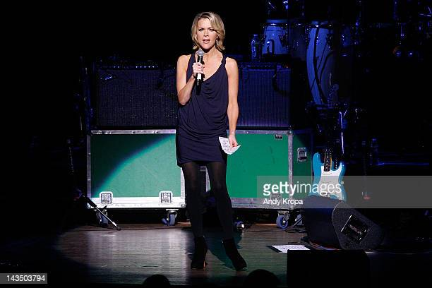 Megyn Kelly attends at the benefit concert for Army SPC Bryan Dilberain at the Brooklyn Center for the Performing Arts on April 27 2012 in the...
