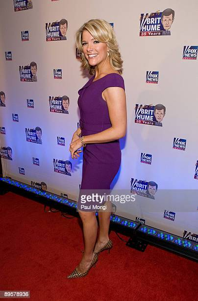 Megyn Kelly attends salute to Brit Hume at Cafe Milano on January 8, 2009 in Washington, DC.