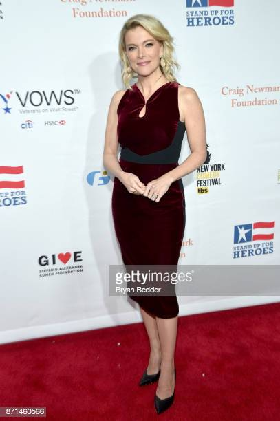 Megyn Kelly attends the 11th Annual Stand Up for Heroes Event presented by The New York Comedy Festival and The Bob Woodruff Foundation at The...