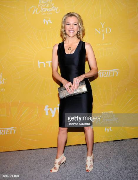 Megyn Kelly attends the 2014 Variety Power Of Women New York Luncheon at Cipriani 42nd Street on April 25 2014 in New York City