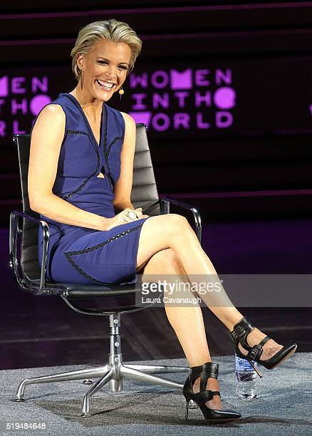 Megyn Kelly attends the 7th Annual Women in the World Summit Opening Night at David H. Koch Theater at Lincoln Center on April 6, 2016 in New York...