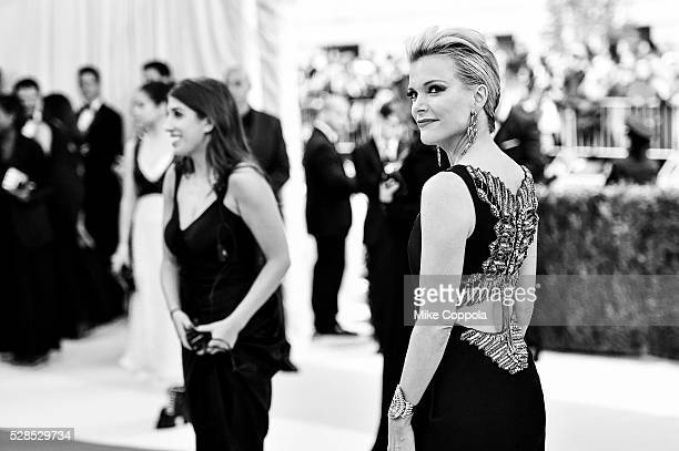 Megyn Kelly attends the 'Manus x Machina Fashion In An Age Of Technology' Costume Institute Gala at Metropolitan Museum of Art on May 2 2016 in New...