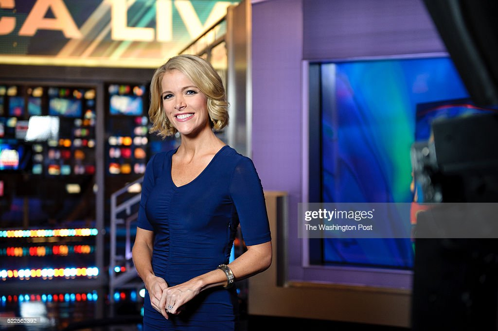 Megyn Kelly, host of America Live on set at Fox News studios in New