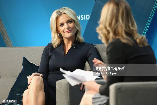 Megyn Kelly NBC News Anchor and host of 'Megyn Kelly Today' speaks onstage with Alyson Shontell at IGNITION Future of Media at Time Warner Center on...