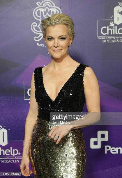 Megyn Kelly poses for photos on the red carpet during the Childhelp's 15th annual Drive The Dream Gala at The Phoenician Resort on February 02, 2019...