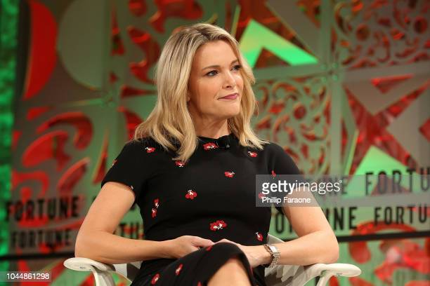 Megyn Kelly speaks onstage at the Fortune Most Powerful Women Summit 2018 at Ritz Carlton Hotel on October 2, 2018 in Laguna Niguel, California.