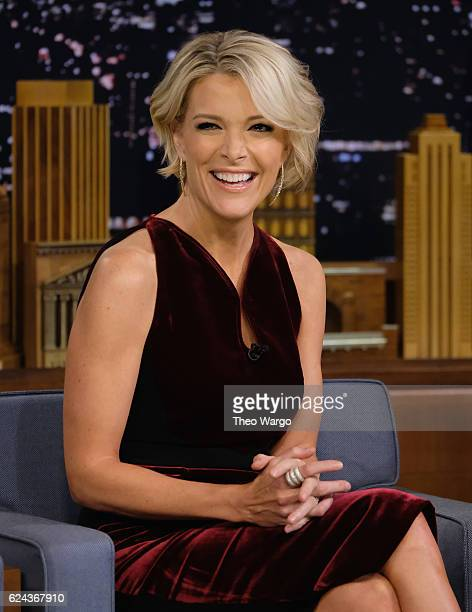 Megyn Kelly Visits 'The Tonight Show Starring Jimmy Fallon' at Rockefeller Center on November 18 2016 in New York City