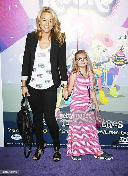 Megyn Price arrives at the Los Angeles premiere of My Little Pony Equestria Girls Rainbow Rocks held at TCL Chinese 6 Theatres on September 27 2014...