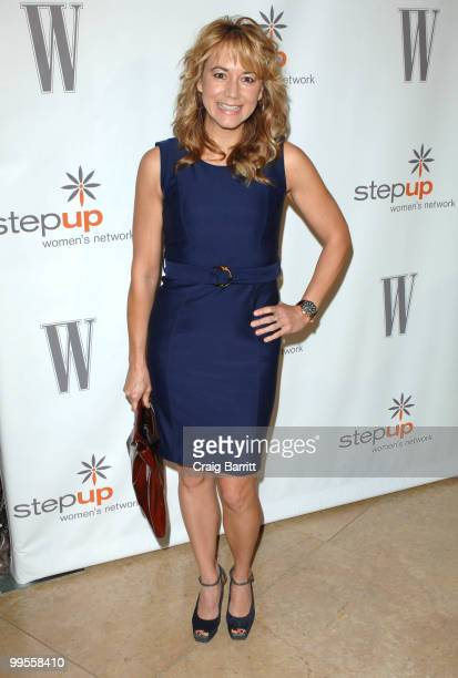 Megyn Price arrives at the Step Up Women's Network 2010 Inspiration Awards at The Beverly Hilton hotel on May 14 2010 in Beverly Hills California