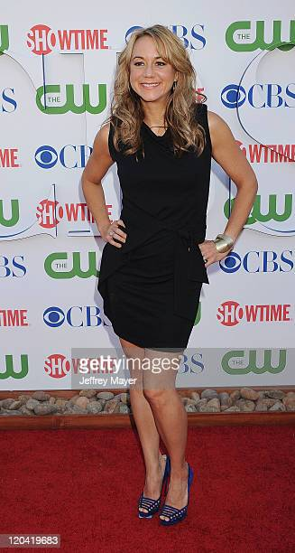 Megyn Price arrives at the TCA Party for CBS The CW and Showtime held at The Pagoda on August 3 2011 in Beverly Hills California