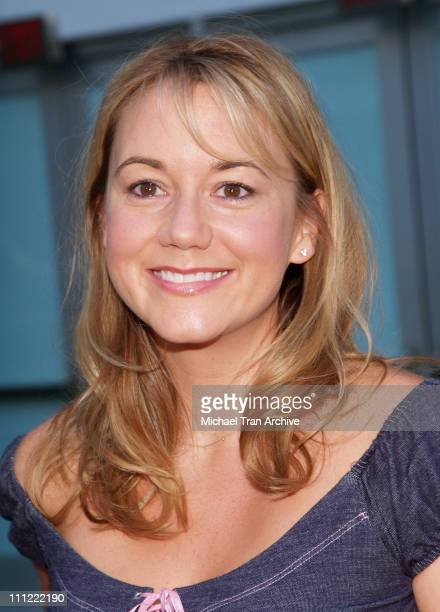 Megyn Price during The GroomsMen Los Angeles Premiere Arrivals at ArcLight Cinemas in Hollywood CA United States