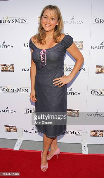 Megyn Price during The Groomsmen World Premiere at The Arclight in Hollywood California United States