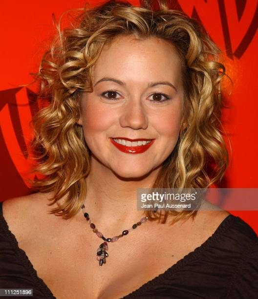 Megyn Price during The WB Network's 2004 All Star Party at Hollywood Highland in Hollywood California United States