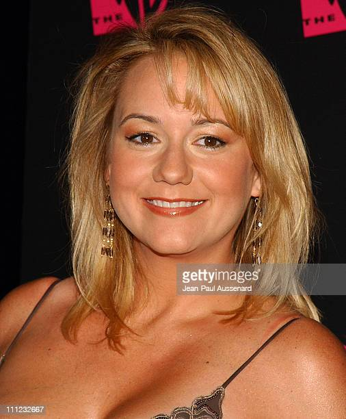 Megyn Price during The WB Network's 2004 All Star Summer Party Arrivals at The Lounge at Astra West in Los Angeles California United States