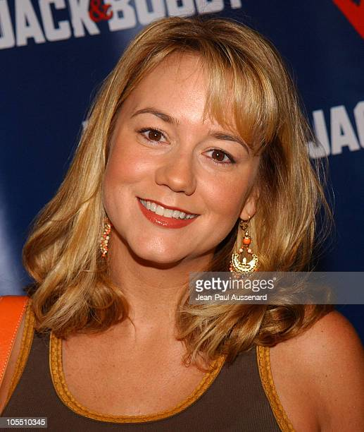 Megyn Price during The WB Network's Jack and Bobby Rock the Vote Party Arrivals at Warner Bros Studios in Burbank California United States