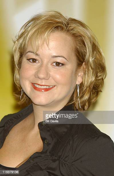 Megyn Price during WB Television Network 2003 2004 Upfront Presentation at Sheraton Hotel in New York NY United States