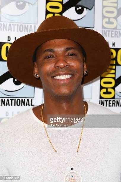 Mehcad Brooks arrives at the 'Supergirl' press line at ComicCon International 2017 on July 22 2017 in San Diego California