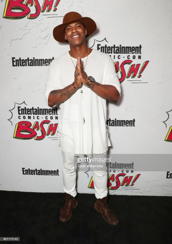 Mehcad Brooks at Entertainment Weekly's annual Comic-Con party in celebration of Comic-Con 2017 at Float at Hard Rock Hotel San Diego on July 22, 2017 in San Diego, California.
