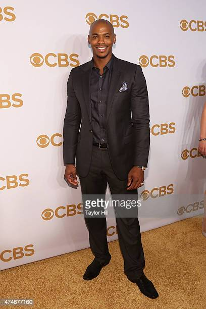 Mehcad Brooks attends the 2015 CBS Upfront at The Tent at Lincoln Center on May 13 2015 in New York City