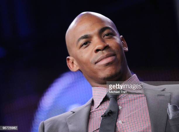 Mehcad Brooks attends the ABC and Disney Winter Press Tour held at The Langham Resort on January 12 2010 in Pasadena California