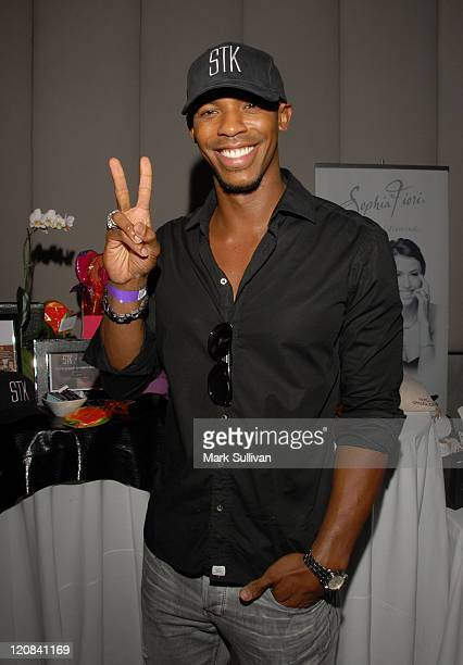 Mehcad Brooks attends the Kari Feinstein Primetime Emmy Awards style lounge at Zune LA on September 18 2009 in Los Angeles California
