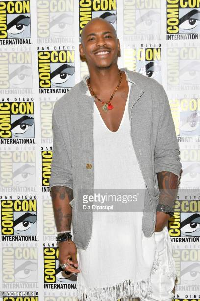 Mehcad Brooks attends the 'Supergirl' Press Line during ComicCon International 2018 at Hilton Bayfront on July 21 2018 in San Diego California