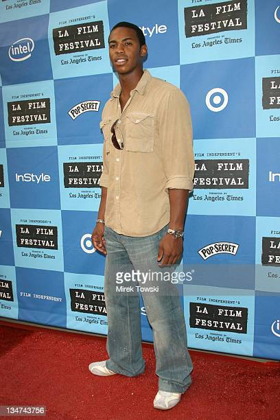Mehcad Brooks during 2006 Los Angeles Film Festival The Lather Effect Premiere at Mann Festival Theatre in Westwood California United States