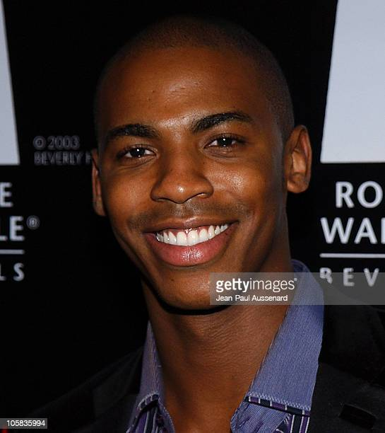 Mehcad Brooks during 2006 Rodeo Drive Walk of Style Awards Arrivals at Historic Beverly Hills Post Office in Beverly Hills California United States