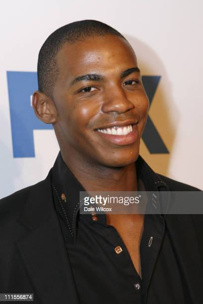 Mehcad Brooks during 37th NAACP Image Awards PreShow Gala at The Henson Studios in Los Angeles California United States